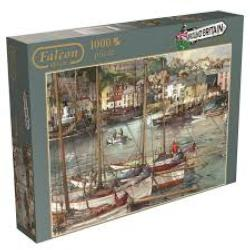 Ilfracombe Harbour Seascape / Coastal Living Jigsaw Puzzle