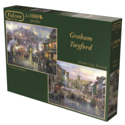 Market Day Europe Jigsaw Puzzle