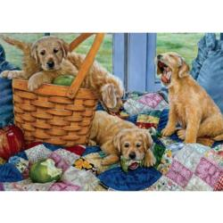 Playful Puppies Dogs Jigsaw Puzzle