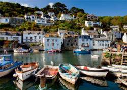 Polperro Harbour Seascape / Coastal Living Jigsaw Puzzle