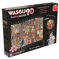 Shopping Shake Up! Wasgij #15 Jigsaw Puzzle