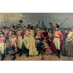 The Girl I Left Behind History Jigsaw Puzzle