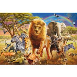 African Wildlife Africa Jigsaw Puzzle
