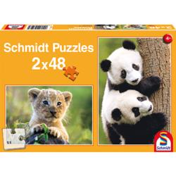 Cute Animal Babies Pandas Multi-Pack