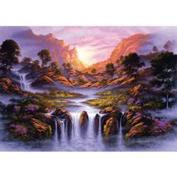 Dreamlike Waterfall Waterfalls Jigsaw Puzzle