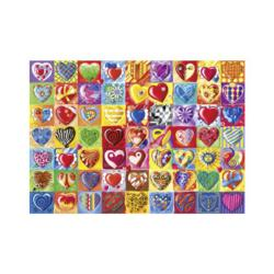 Heart-Throb Collage Jigsaw Puzzle