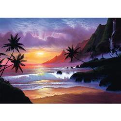 Heavenly Bay Sunrise/Sunset Jigsaw Puzzle