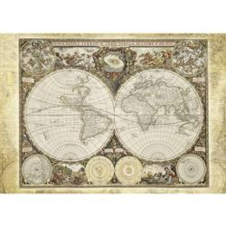 Historical World Map History Jigsaw Puzzle