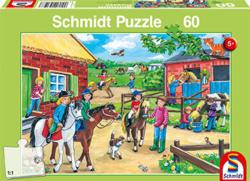 Holiday at the Stables Horses Jigsaw Puzzle