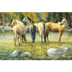 Horse Lovers Lakes / Rivers / Streams Jigsaw Puzzle