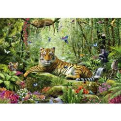 Jungle Tigers Tigers Jigsaw Puzzle