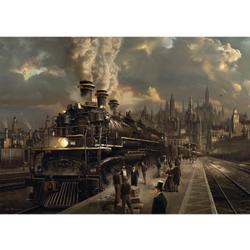 Locomotive Cities Jigsaw Puzzle