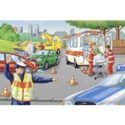Police Vehicles Children's Puzzles