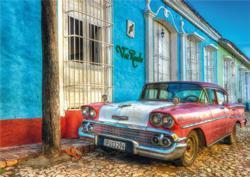 Via Reale Cuba Nostalgic / Retro Jigsaw Puzzle