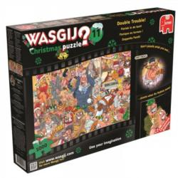 Christmas Wasgij: #11 Double Trouble Christmas Jigsaw Puzzle