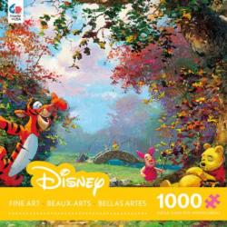 Pooh's Afternoon Nap (Disney Fine Art 1000) Cartoons Jigsaw Puzzle