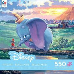 Unlikely Friends (Disney Fine Art 550) Movies / Books / TV Jigsaw Puzzle
