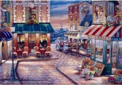 Café Rendezvous Travel Jigsaw Puzzle