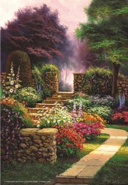 Azalea Walk Garden Jigsaw Puzzle