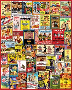 Comedy Movie Posters Movies / Books / TV Jigsaw Puzzle