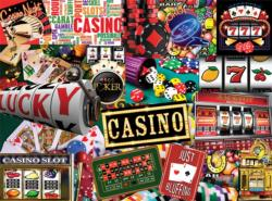 Casino Collage Jigsaw Puzzle