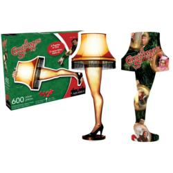 A Christmas Story - Leg Lamp and Collage Collage Double Sided Puzzle