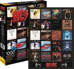 AC/DC - Discography Music Jigsaw Puzzle