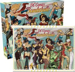 DC Bombshells Super-heroes Jigsaw Puzzle