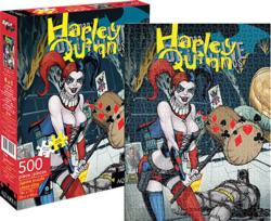 Harley Quinn Cover (DC Comics) Super-heroes Jigsaw Puzzle
