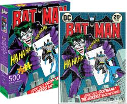 The Joker Cover (DC Comics) Super-heroes Jigsaw Puzzle