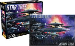 Ships of the Line (Star Trek) Sci-fi Jigsaw Puzzle