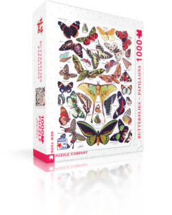 Butterflies Nature Jigsaw Puzzle