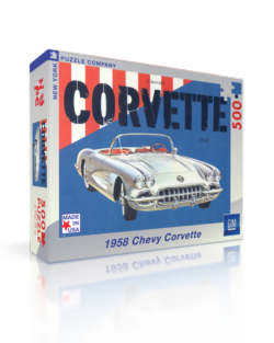Corvette Convertible (General Motors) Americana & Folk Art Jigsaw Puzzle