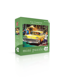 Car Camping-1958 Brookwood Wagon (Mini) Nostalgic / Retro Jigsaw Puzzle