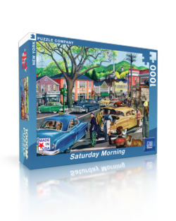 Saturday Afternoon (General Motors) Nostalgic / Retro Jigsaw Puzzle