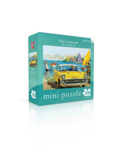General Motors The Launch (Mini) Nostalgic / Retro Jigsaw Puzzle