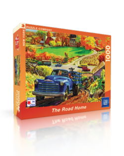 The Road Home - 1950 Chevy 3100 Pickup (General Motors) Nostalgic / Retro Jigsaw Puzzle