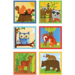 Forest Friends Block Puzzle Other Animals Dexterity Toy