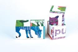 The World of Eric Carle(TM) Brown Bear, Brown Bear, What Do You See? Movies / Books / TV Block Puzzle