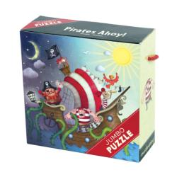 Pirates Ahoy! Jumbo Puzzle Pirates Children's Puzzles