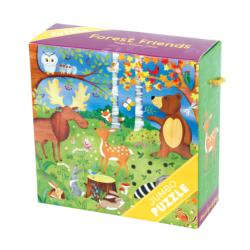 Forest Friends Jumbo Puzzle Other Animals Children's Puzzles