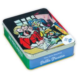 Pablo Picasso Two Girls Reading Fine Art Tin Packaging