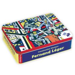 Fernand Leger Construction Workers Contemporary & Modern Art Tin Packaging