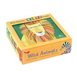 Wild Animals Block Puzzle Zebras Children's Puzzles