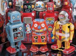 Robot Explorers Robots Jigsaw Puzzle