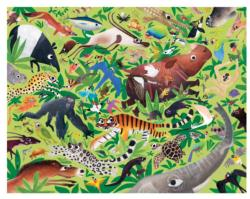 Endangered Animals Wildlife Children's Puzzles