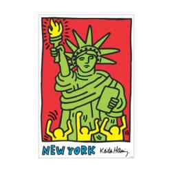 Keith Haring New York Statue of Liberty Tin Packaging