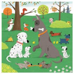 Dog Days Dogs Jumbo / Chunky / Peg Puzzle