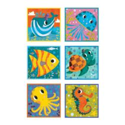 Under the Sea Block Puzzle Marine Life Blocks