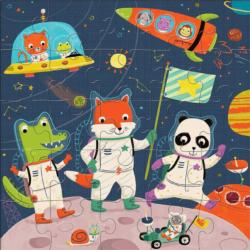 Space Explorers Jumbo Puzzle Space Children's Puzzles
